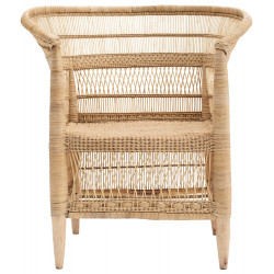 House Doctor Rika Armchair in Natural Rattan