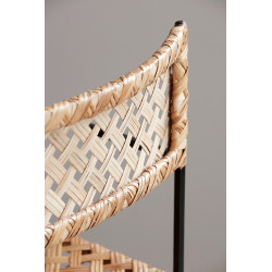 House Doctor Oscar Dining Chair in Natural Rattan