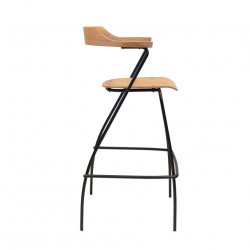 Rex Kralj Project Bar Chair in Oak