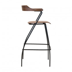 Rex Kralj Project Bar Chair in Walnut
