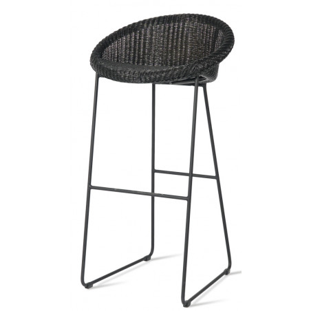 Vincent Sheppard Joe Bar Stool with Black Frame