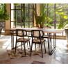 Vincent Sheppard Achille Dining Table Square Base 200 x 100 CM