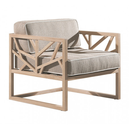 Wewood Tree Oak Lounge Chair