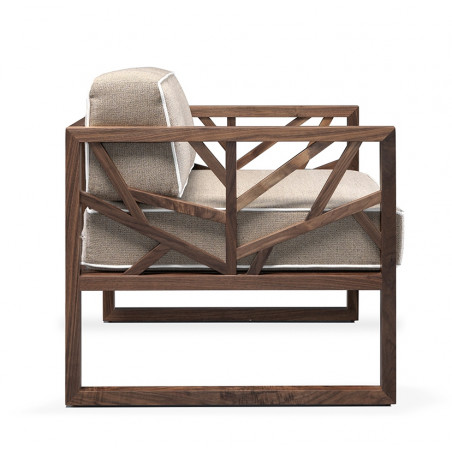 Wewood Tree Walnut Lounge Chair