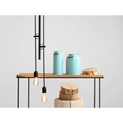 Custom Form Twigo 4 Hanging Lamp in Black