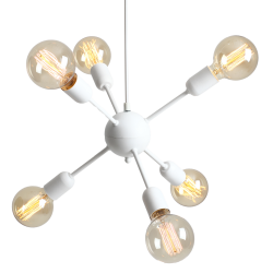Custom Form Vanwerk Ball Pendant Lamp white
