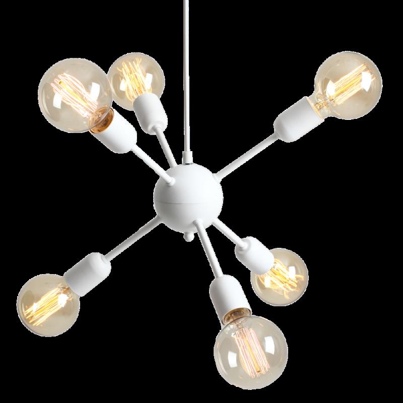 Custom Form Vanwerk Ball Pendant Lamp white