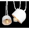 Custom Form POPO 2 Pendant Lamp white Color