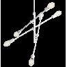 Custom Form Twigo 6 Pendant Lamp   White