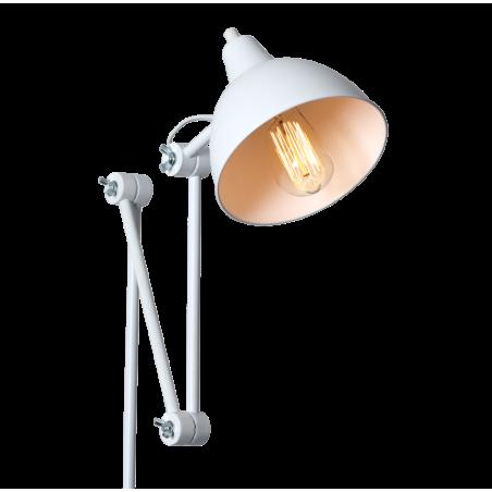 Custom Form Coben wall lamp in White Metal