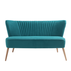 Custom Form 2 Seater Sofa Harry in Turquoise Marshmallow