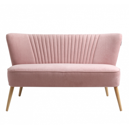 Custom Form 2 Seater Sofa Harry in Pink Meringue