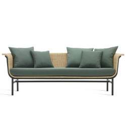Vincent Sheppard Wicked Sofa Black -Natural