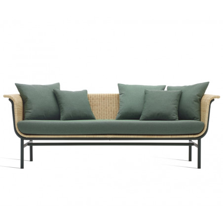 Vincent Sheppard Wicked Sofa Dark Green -Natural