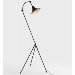 Custom Form Miller Floor Lamp Black