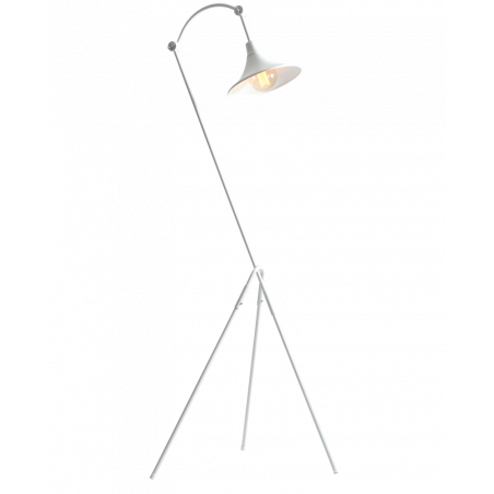 Custom Form Miller Floor Lamp white