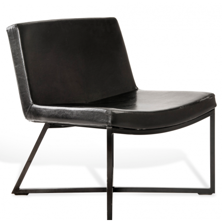 copy of Custom Form Armchair ZERO, Eco Leather black