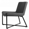 Custom Form Zero Armchair Dark Grey Black Metal