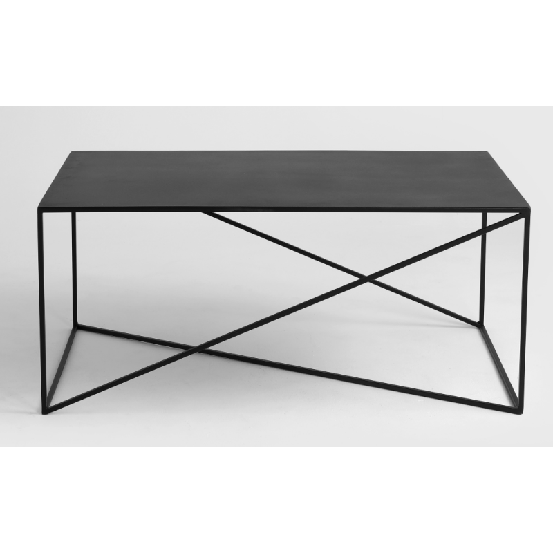 Custom Form Memo Coffee Table 100 x 60 CM Black