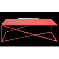 Custom Form Memo Coffee Table 140 CM Red