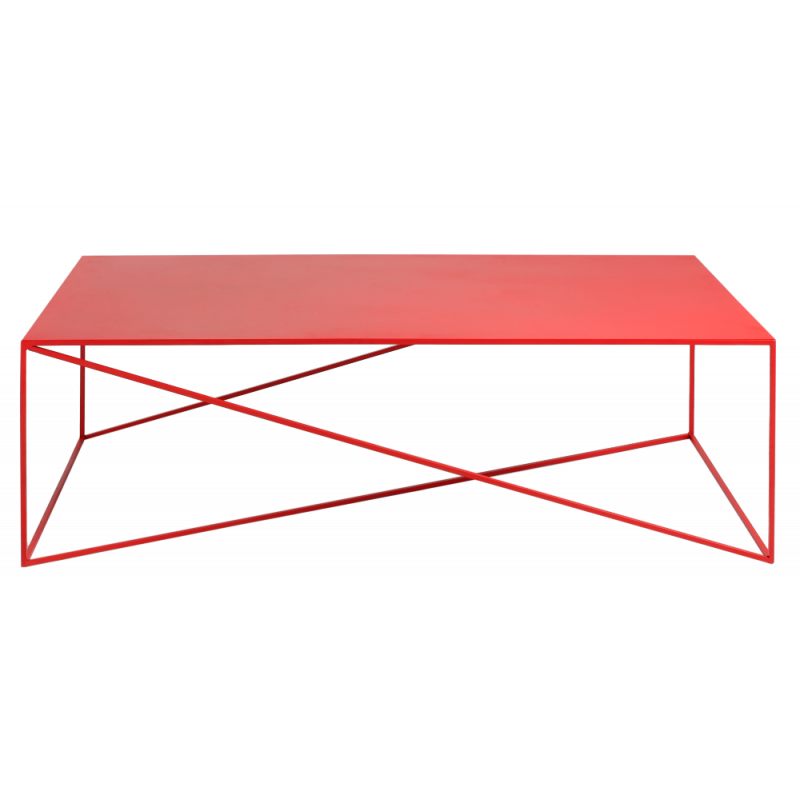 copy of Custom Form Coffee Table MEMO 140 CM Red Color