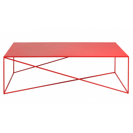 Custom Form Memo Coffee Table 140 CM Red