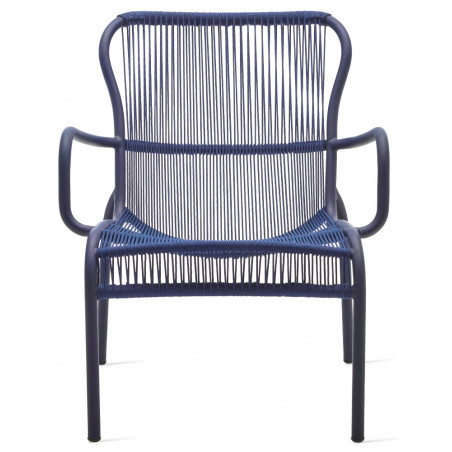 Vincent Sheppard Loop Lounge Chair Rope Indigo