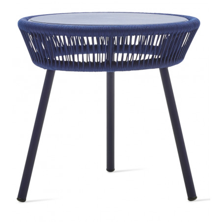 Vincent Sheppard Loop Side Table Rope Indigo