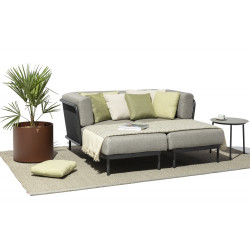 Todus Baza Set of Chaise Longue Left Right
