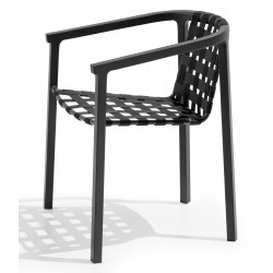 Todus Square Duct Outdoor Dining Chair
