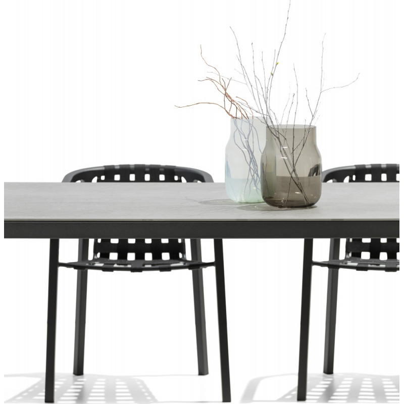 Todus Duct Outdoor Dining Table HPL Top