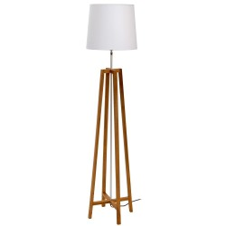 Criss-Cross Natural Floor Lamp