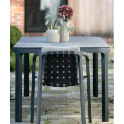 Todus Duct Outdoor Dining Table Ceramic Top 160 CM