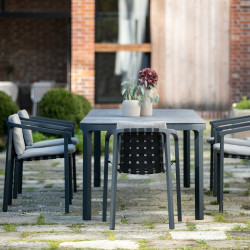 Todus Duct Outdoor Dining Table Ceramic Top 160 CM