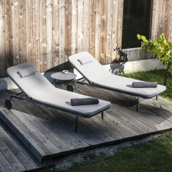 Todus Starling Reclining Sun Lounger