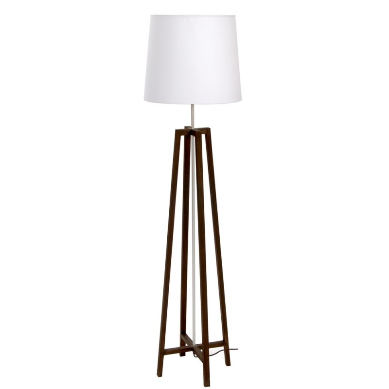 Criss-Cross Earth Floor Lamp