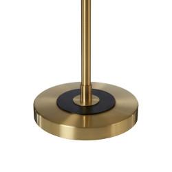 Chicago Table Lamp Black Brass