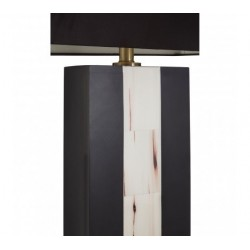 Vienna Table Lamp With Two Tone Marble Base