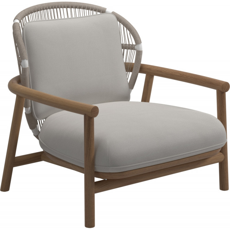 Gloster Fern Lounge Chair Dune | Low Back