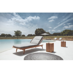 Gloster Kay Sunlounger | Copper Weaving