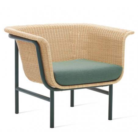 Vincent Sheppard Wicked Lounge Chair Black -Natural