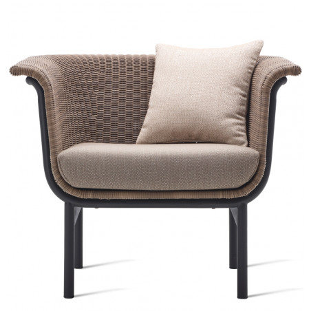 Vincent Sheppard Wicked Lounge Chair Taupe Black