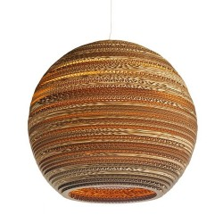 Moon Pendant Light 10""