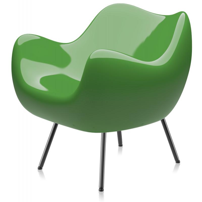 RM58 Armchair Classic Glossy Green by Vzor