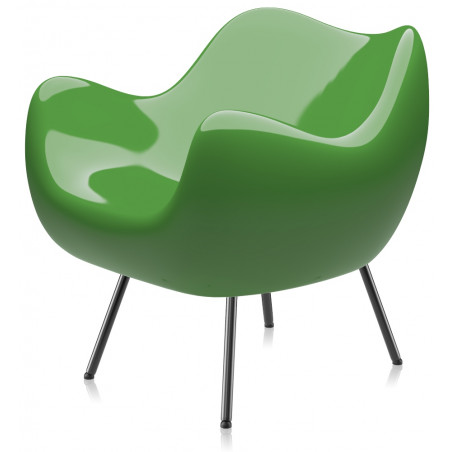 RM58 Armchair Classic Glossy Green by Vzor