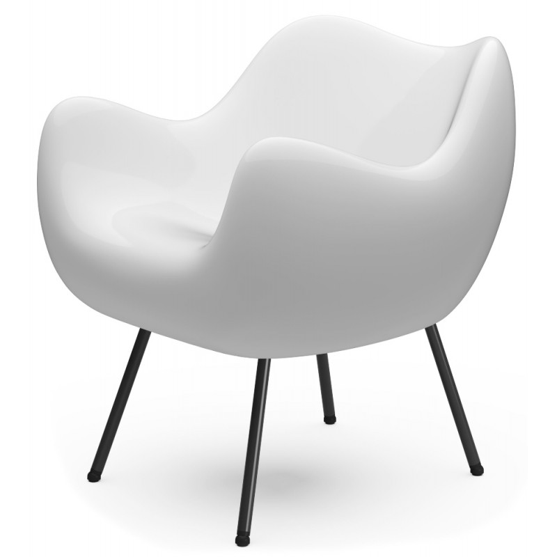 RM58 Armchair Classic Glossy White by Vzor