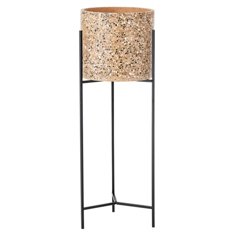 Bloomingville Concrete Flower Pot with stand