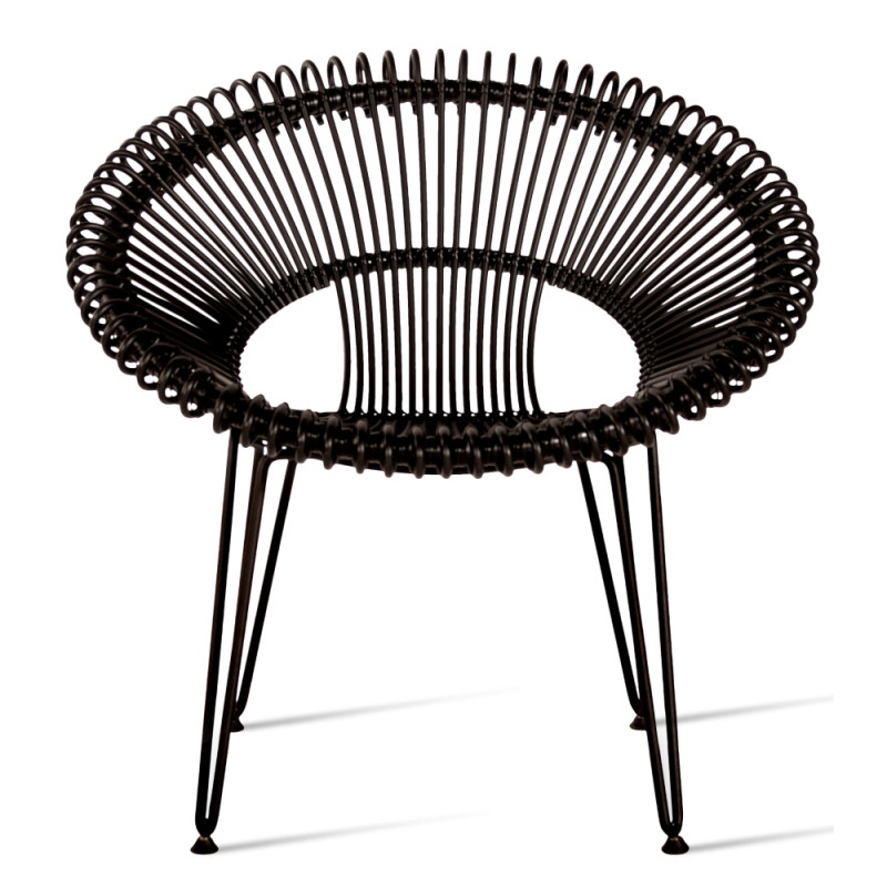 Vincent Sheppard Roy Outdoor Lounge Chair Black