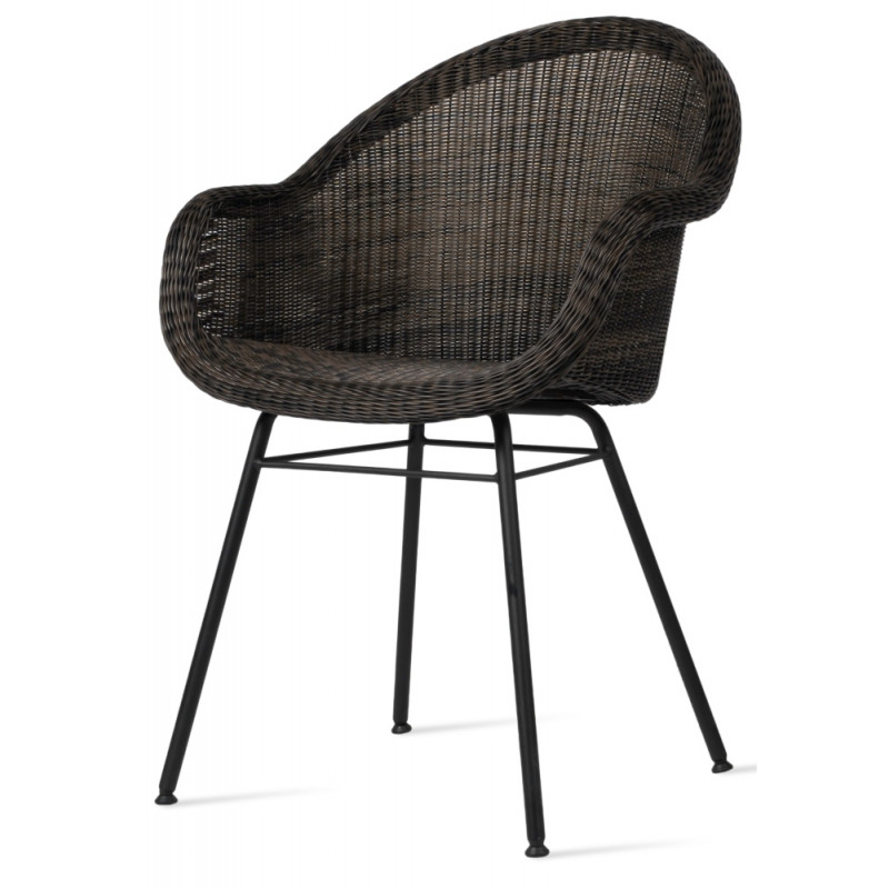 Vincent Sheppard Edgard Outdoor Dining Chair Steel A Base