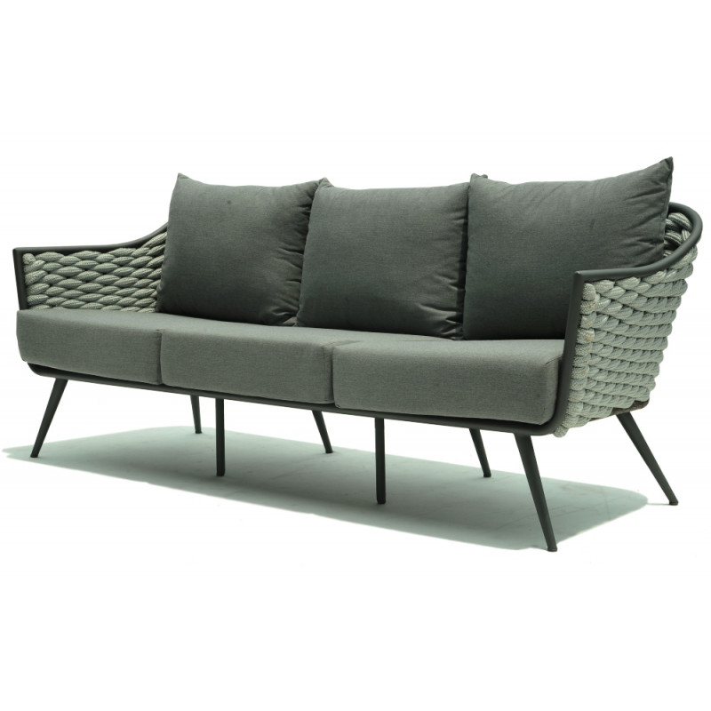 Skyline 3 Seater Serpent Sofa